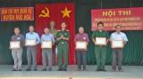Đức Hòa: Hội thi tuyên truyền về học tập và làm theo phong cách Hồ Chí Minh trong LLVT