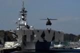 Lực lượng phòng vệ biển Nhật Bản và hải quân Mỹ diễn tập ở Biển Đông