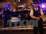 Khủng bố bằng xe kinh hoàng ở London, 11 người thương vong
