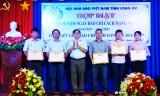 Hội Nhà báo Việt Nam tỉnh Long An họp mặt và trao giải báo chí tỉnh năm 2016-2017