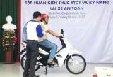 TP.Tân An tập huấn kỹ năng lái xe an toàn