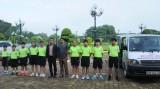 Đoàn vận động viên Long An lên đường tham gia Giải Quần vợt năng khiếu toàn quốc 2017