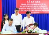 Long An-TP.HCM ký kết phối hợp sản xuất, kinh doanh và tiêu thụ nông sản bảo đảm an toàn thực phẩm