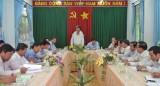Lãnh đạo tỉnh Long An kiểm tra tiến độ cấp nước các xã vùng hạ huyện Cần Giuộc