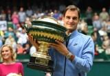 Thắng dễ Zverev, Federer lập kỷ lục vô địch tại Halle
