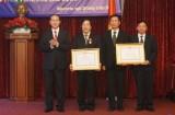 Chủ tịch nước trao Huân chương cho Đại sứ quán Việt Nam tại Nga