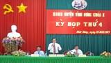 Bế mạc kỳ họp thứ 4 HĐND huyện Vĩnh Hưng khóa X