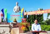 Dâng hương kỷ niệm 45 năm Ngày hy sinh Anh hùng Lực lượng vũ trang nhân dân - liệt sĩ Nguyễn Thái Bình
