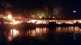 Cháy chợ đêm Phú Quốc lúc 3g sáng