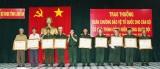 Long An: 54 đồng chí được trao tặng Huân chương Bảo vệ Tổ quốc