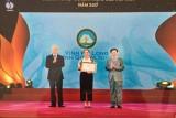 Vịnh Hạ Long nhận danh hiệu Khu du lịch hàng đầu Việt Nam năm 2017