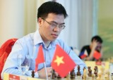 Lê Quang Liêm hòa kỳ thủ hạng 14 thế giới Yu Yangyi