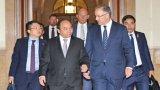 Thủ tướng gặp Chủ tịch Thượng viện và Chủ tịch Hạ viện Hà Lan
