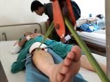 Xe giường nằm lật tại Khánh Hòa, 11 người bị thương nặng