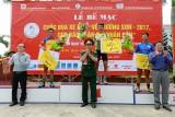 Nguyễn Cường Khang thắng chung cuộc Giải đua xe đạp Cúp báo QĐND