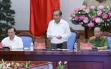 Phó Thủ tướng Trương Hòa Bình: Đánh trúng đối tượng đầu nậu, đầu sỏ