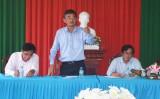 Phó Chủ tịch UBND tỉnh - Phạm Văn Cảnh: Kiểm tra xây dựng nông thôn mới tại xã Hòa Khánh Đông