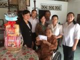 UBMTTQ Việt Nam tỉnh Long An  thăm, tặng quà Mẹ Việt Nam Anh hùng- Nguyễn Kim Ba