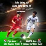 Vé xem trận U22 Việt Nam với các ngôi sao K-League rẻ nhất 100.000đ