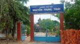 Cảnh cáo Hiệu trưởng Trường Tiểu học Nguyễn Trung Trực