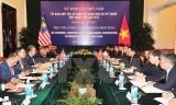 Malaysia đánh giá cao quan hệ đối tác chiến lược với Việt Nam