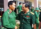 68 quân nhân hoàn thành nghĩa vụ quân sự xuất ngũ đợt 2 năm 2017