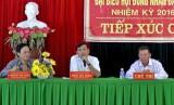 Đại biểu HĐND tỉnh tiếp xúc cử tri Bến Lức và Vĩnh Hưng