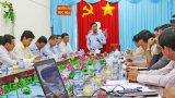 Lãnh đạo tỉnh Long An kiểm tra tình hình lũ tại các huyện Đồng Tháp Mười