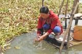 Chỉ tiêu nước sạch nông thôn còn nhiều khó khăn