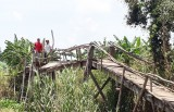 Gần 40 hộ dân xã Hưng Thạnh sẽ có cầu mới để lưu thông