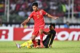 15h hôm nay (14/8): U-22 Myanmar và Singapore quyết đấu