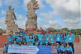 Sôi nổi hoạt động giao lưu văn hóa thanh niên tỉnh Chungcheongnamdo tại huyện Thủ Thừa