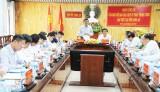 Ban Chỉ đạo Cải cách Tư pháp Trung ương làm việc với tỉnh Long An