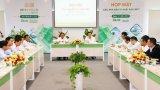 Bí thư Tỉnh ủy Long An - Phạm Văn Rạnh làm việc với nhà đầu tư tại Khu công nghiệp Long Hậu