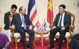 Thủ tướng Nguyễn Xuân Phúc làm việc với Tỉnh trưởng Nakhon Phanom (Thái Lan)