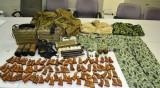 Mang nhiều báng súng, vỏ đạn, một người Đài Loan bị bắt