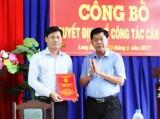 Ông Huỳnh Văn Quang Hùng giữ chức vụ Quyền Chủ tịch UBND huyện Cần Đước
