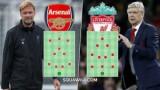 Liverpool - Arsenal: Chờ tiệc bàn thắng ở Anfield