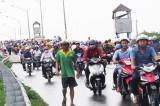 Chính thức cấm xe tải, xe khách từ 9 chỗ ngồi trở lên qua cầu Tân An 1