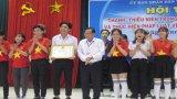 Đội THPT Đức Hòa đoạt giải nhất Hội thi Thanh thiếu niên học đường tìm hiểu pháp luật về an toàn giao thông
