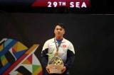 Lực sĩ Hoàng Tấn Tài đoạt huy chương cuối cho thể thao VN