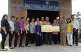 Quỹ từ thiện PNJ trao tặng mái ấm tình thương địa bàn Long An