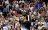 """Federer """"tốc hành"""" vào tứ kết US Open 2017"""