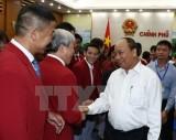 Thủ tướng gặp mặt thân mật đoàn thể thao Việt Nam dự SEA Games 29
