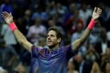 Đánh bại Federer, Del Potro vào bán kết Mỹ mở rộng