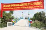 Bến Lức: Khánh thành cầu giao thông nông thôn