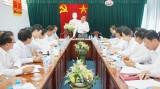 Thống nhất nội dung kỳ họp thứ 7, HĐND tỉnh Long An khóa IX