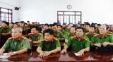 35 chiến sĩ được xét kết nạp Đảng