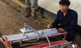 """""""Nông dân lớp 7"""" bỏ lương nghìn đô ở Israel, về nước chế tạo robot"""