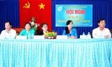 Hội Liên hiệp phụ nữ huyện Cần Đước tiếp xúc, đối thoại với cán bộ, hội viên